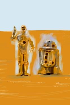 C3PO R2D2